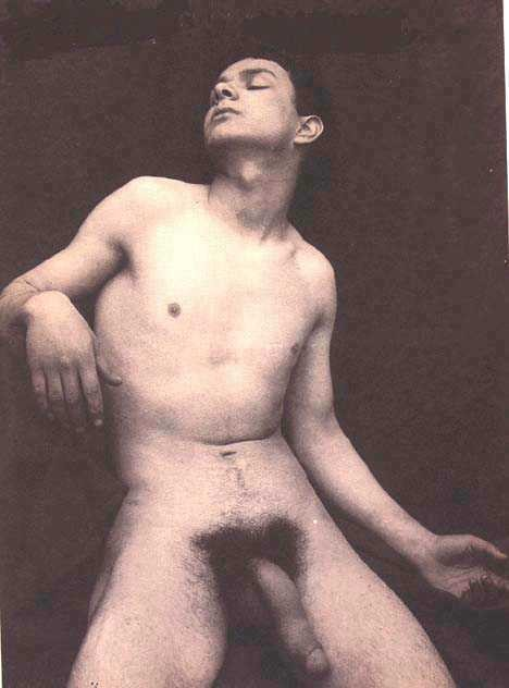 nude vintage of male indians